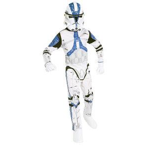 Star Wars Clonetrooper Verkleedset Maat M 122 3-5 Jaar