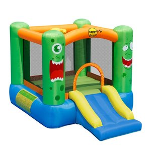 Happy Hop Monster Springkussen + Blower 280x210 cm