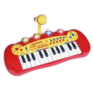 Bontempi Keyboard met Microfoon en 24 Toetsen + Licht