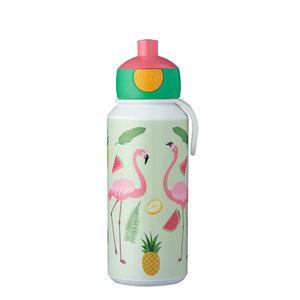 Rosti Mepal Drinkfles Pop-Up Tropical Flamingo 400 ml