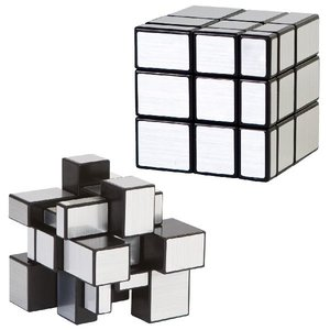Clown Games Magic Cube Puzzle Silver