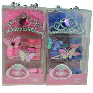 Princess Tiara + Accessoires Assorti