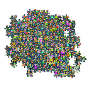 Clementoni Mordillo Impossible Puzzel 1000 Stukjes