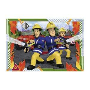 Ravensburger 2in1 Puzzel Brandweerman Sam 2x12 Stukjes