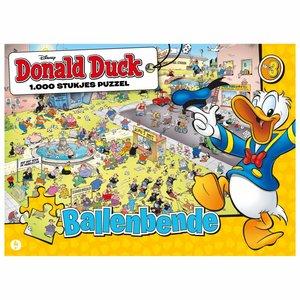 Disney Puzzel Donald Duck Ballenbende 1000 Stukjes