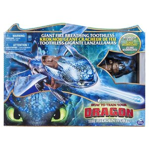 Spin Master Dreamworks Dragons Giant Fire Breathing Toothless