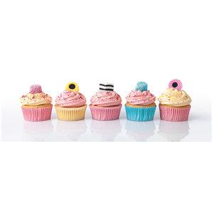 Clementoni High Quality Collection Panorama Puzzel Cupcakes 1000 Stukjes