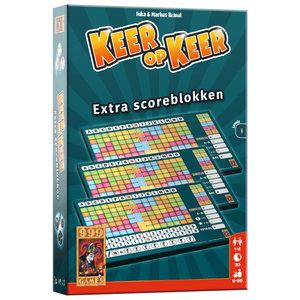 999 Games Keer op Keer Level 1 Scoreblokken 3 Stuks
