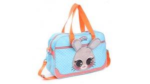 Lulupop & the Cutiepies Bunny Schoudertas Blauw/Oranje