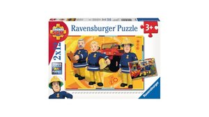 Ravensburger Puzzel Brandweerman Sam 2x12 Stukjes