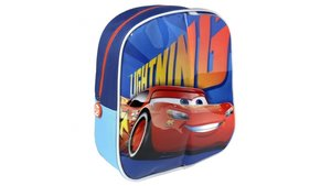 Disney Cars Rugzak met Schrijfgedeelte + 2 Markers 25x31x10 cm Blauw/Oranje