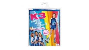 K3 Outfit Roller Disco Met Regenboog Sokken 6-8 Jaar