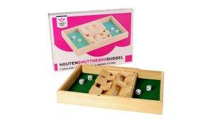 Dobbelspel Shut The Box 2 Spelers +  4 Dobbelstenen
