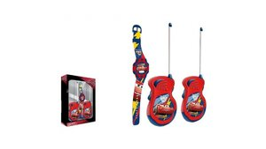 Disney Cars 3 Walkie Talkies + Horloge Set