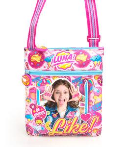Disney Soy Luna iLuna - Schoudertasje met schouderband - 24 cm