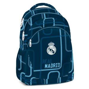 Real Madrid - Rugzak voor een tiener - 37 cm hoog -  Blauw
