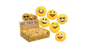 Emoticon Stress Ball Assorti