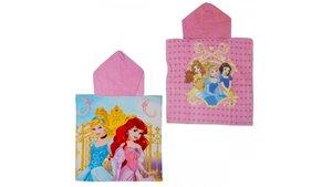 Disney Princess Poncho Handdoek 50x100cm Assorti