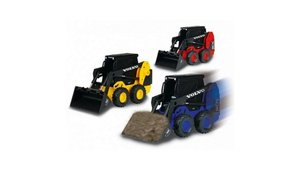 Dickie Mini Loader Volvo M70 Graafmachine Assorti