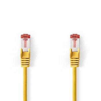 Nedis CCGP85221YE10 netwerkkabel 1 m Cat6 SF/UTP (S-FTP) Geel