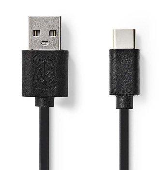 Nedis CCGP60600BK30 USB-kabel 3 m 2.0 USB A USB C Zwart