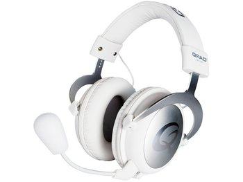 QPad QH-90 Pro Gaming Hi-Fi Headset - Gesloten cups - Wit