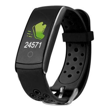 Ksix - waterdichte activity tracker en 24uurs hartslagmonitor -Zwart