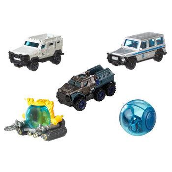 Matchbox Jurassic World 5 Auto's met Voertuigdeco 1:64 Assorti