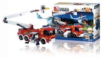 Sluban M38-B0627 Fire Serie Hoogwerker + Helikopter 403-delig