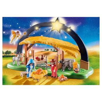 Playmobil 9494 Kerststal + Heldere Ster met Licht