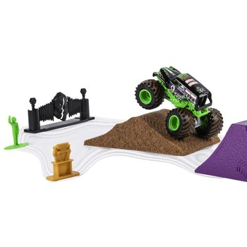 Monster Jam Monster Dirt Set + Die-Cast Truck en Kinetic Sand Assorti