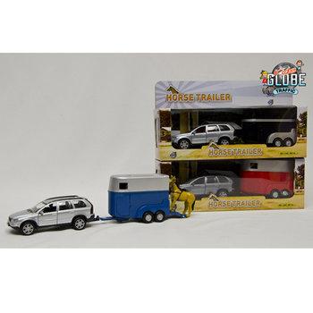 Kids Globe Traffic Volvo XC90 + Paardentrailer