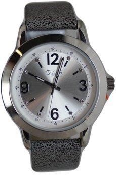 Di Lusso dames horloge - Grijs/zilver