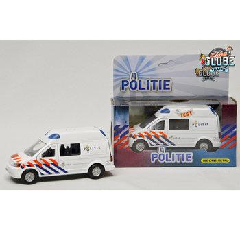 Kids Globe Traffic Politie Bus