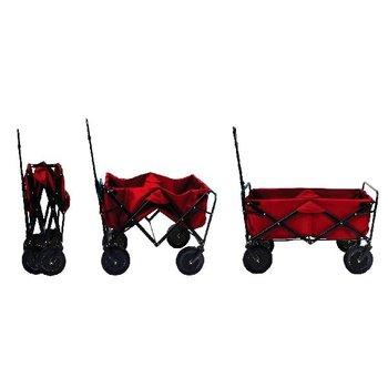 Opvouwbare Bolderwagen Rood