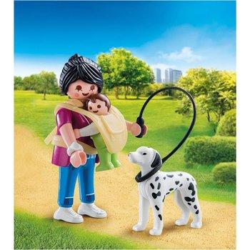Playmobil 70154 Special Plus Mama met Baby en Hond