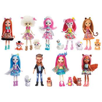 Mattel Enchantimals Pop met Dierenvriendje + Accessoires Assorti