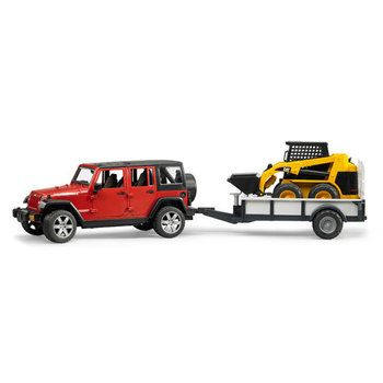 Bruder Jeep met Cat Shovel
