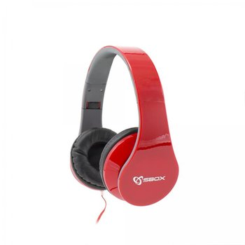 Sbox Koptelefoon HS-501R Strawberry - Rood