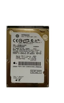 HDD Hitachi PULLED Apple / 250GB / 2,5