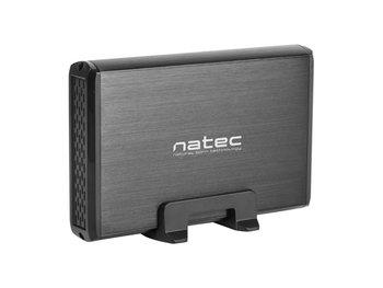 Natec Rhino - Externe Sata USB 3.0 HDD 3,5 inch - Harddiskbehuizing - Zwart