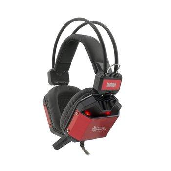 White Shark Jaguar Black/Red Gaming Headset