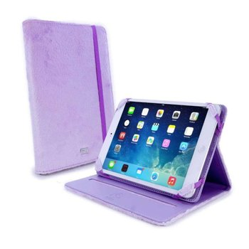 Tuff-Luv Slim-Stand Fluffies case cover for 7 inch tablet inc Kindle Fire HD / HDX paars
