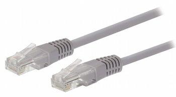 Valueline VLCT85000E100 10m Cat5e U/UTP (UTP) Grijs netwerkkabel