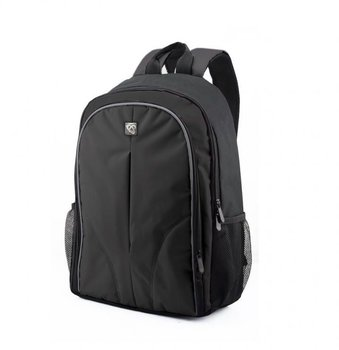Boston laptop tas 15.6 inch - Zwart