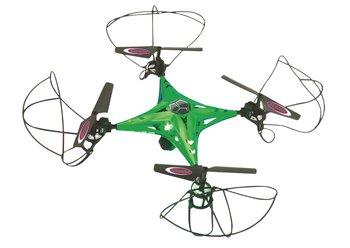 Jamara JAM-422019 RC Drone Camalu HD FPV 4+5-Kanaals RTF /Foto/Video/Gyro Inside/Verlichting/360 Draaibaar/Groen