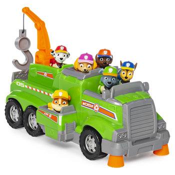 Paw Patrol Rocky's Team Recycle Vrachtwagen + 6 Pups
