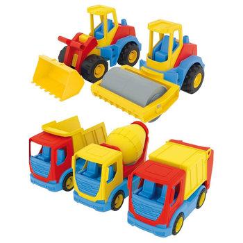 Wader Constructiewagens 24 cm Assorti