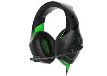 Rampage RM-K7 Magnific 7.1 gaming headset - zwart met groen