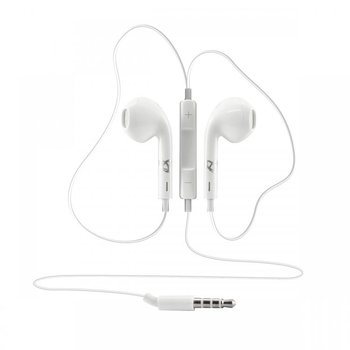 Sbox in-ear koptelefoon bedraad apple look IEP-204 White 3.5 jack
